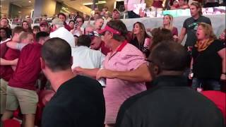 Fight at the Florida State Alabama game