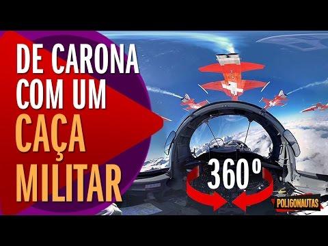 Pegue Carona com Caça Militar em 360º O LHC Pode Gerar um Buraco Negro 5 Vídeos Absurdos