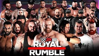 WWE 2K18 - 30 Man Royal Rumble Match!