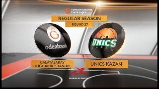 Highlights: Galatasaray Odeabank Istanbul-Unics Kazan