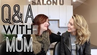 Q & A With Mom | Coming Out, Hair Care, GIVEAWAY