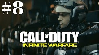 Call of Duty: Infinite Warfare Walkthrough Gameplay Part 8 – 1080p Full HD PS4 - No Commentary.