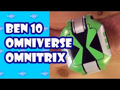 Ben 10 Omniverse Omnitrix Touch Toy Review Unboxing