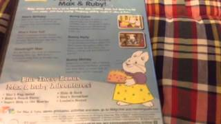 Max and Ruby - Party Time With Max and Ruby 2006 DVD