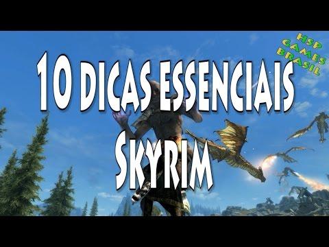 10 Dicas essenciais - Skyrim Special Edition