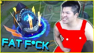 FIZZ REWORK FAT F**K JUNGLE + PLANTS! | League of Legends