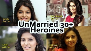 South Indian Unmarried 30+ age Heroines