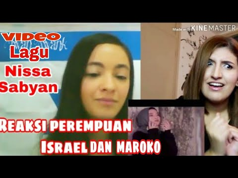 REAKSI PEREMPUAN ISRAEL DENGAR LAGU NISSA SABYAN