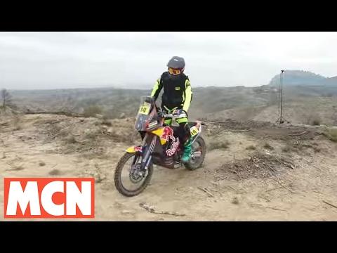 KTM Factory Dakar Bike 2017 Test Motorcyclenews