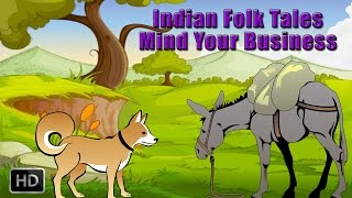 Indian Folk Tales - Short Stories for Children - Mind Your Own Business - Animated Cartoons/Kids