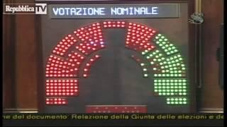 IL SENATO APPROVA LA DECADENZA - SILVIO BERLUSCONI NON E' PIU' SENATORE DELLA REPUBBLICA