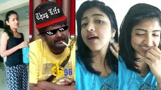 Bigg Boss Funny Dubsmash   Sindhuja Dubsmash   Pooja Shree   Kanja Karuppu, Oviya, Kovai Sarala  