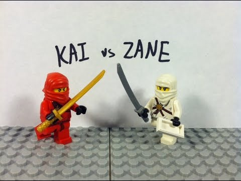 Lego Ninjago: Kai vs Zane