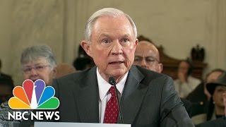 Jeff Sessions: Racist Caricature Of Me Not Accurate Then Or Now | NBC News