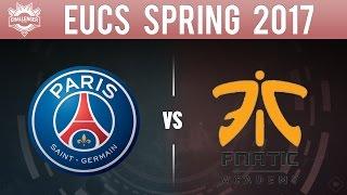 PSG vs FNA, Game 5 - EU CS 2017 Spring Playoffs - Paris Saint-Germain vs Fnatic Academy G5