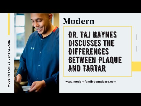 Differences Between Plaque and Tartar, by Charlotte Dentist Dr. Taj Haynes