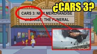 ¿LOS SIMPSONS PREDICEN LA PELICULA DE CARS 3?