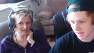 Mom reacts to Fat Nick @_FatNick