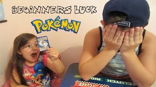 BEGINNERS LUCK!!! - Pokémon 3Packs a Day for Viewer Display