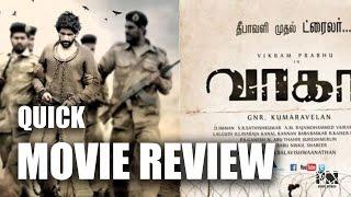 Wagah | Quick Movie Review | Vikram Prabhu | Ranya Rao | Karunas | GNR Kumaravelan