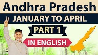 Andhra Pradesh Current Affairs January to April 2018 Set 1 - APPSC APSSC, SI Police, Patwari,Teacher