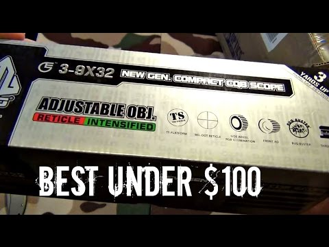 Leapers UTG 3-9x32 Compact CQB Bug Buster Rifle Scope w/ Rings  & Sunshade UNBOXING