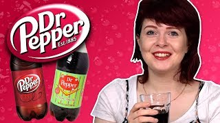 Irish People Try American Dr Pepper