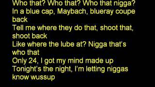 Tyga   Young Kobe Lyrics !!!