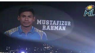 Mustafizur Rahmanby Mumbai Indians IPL 2018.