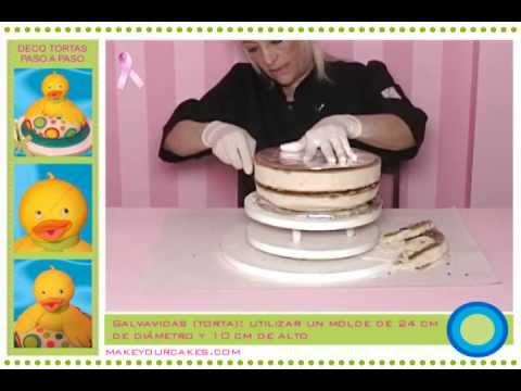 Tutorial de decoración de tortas Cómo hacer una torta 3D para tu bebé
