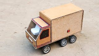 How To Make Container Trucks From Cardboard   DIY Amazing Truck Container at Home   DIY Rc Truck