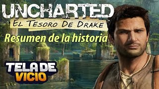 Uncharted, resumen de la historia en Español (parte 1/3 El tesoro de Drake, remasterizada 1080p)