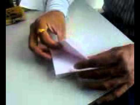How to Make a Paper Boat Pani Ki Naav, Pani Ka Jahaz
