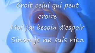 Natacha Atlas - Mon amie la rose lyrics