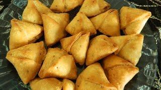 मिनी ड्राई नमकीन समोसा |Mini Dry Samosa / Besan Samosa / Diwali / Holi Samosa Recipe