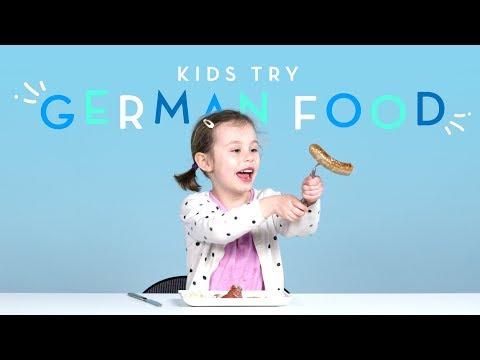 Kids Try German Food Kids Try HiHo Kids