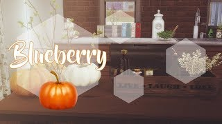 SIMS 4| BLUEBERRY [Slideshow & Download Link ]