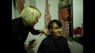 sharon hobson shaving her head part
