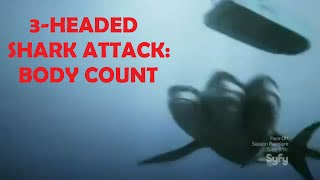 3-Headed Shark Attack: Body Count