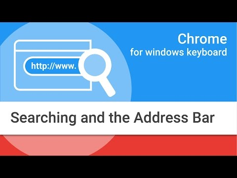 Xxx Mp4 Navigating Chrome On Windows By Keyboard Searching And The Address Bar 3gp Sex