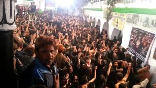 Aama Bas Ek Raat Ka Maheman Hai Hussain, Mir Saber Ali Zawar