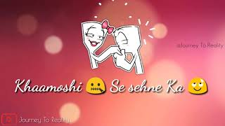 Mujhe Jina Sikha Diya ( Female )    Love : Sad : Romantic    Whatsapp Status Video