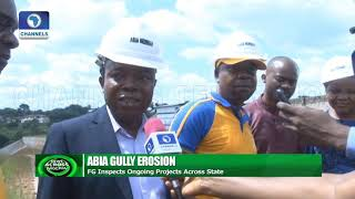 FG Inspects Ongoing Projects Across Abia