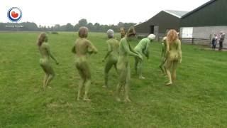 Groen en naakt het weiland in voor duurzaamheid