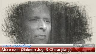 More Naina, Lagegi Barsat , Saleem Jogi & Pt.Chiranji lal ji Tanwar.