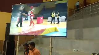Vijay Yadav in Red opp. Iran 10th WORLD O-SPORT CHAMPIONSHIP GAUTAM BHUDH NAGAR-INDIA 1st round