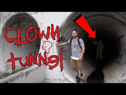 Xxx Mp4 HAUNTED CLOWN TUNNEL GOING ALL THE WAY NEW HAUNTED TUNNEL 3gp Sex