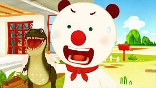 My Friend Trex 1 | kids dinosaur videos | Franky and Friends | Cartoon for kids