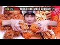 KFC VS MCD Mana Lagi Crunchy ?! | REAL SOUND EATING SHOW | ASMR MALAYSIA