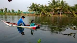Crazy Thai Drag Race Long-tail boat